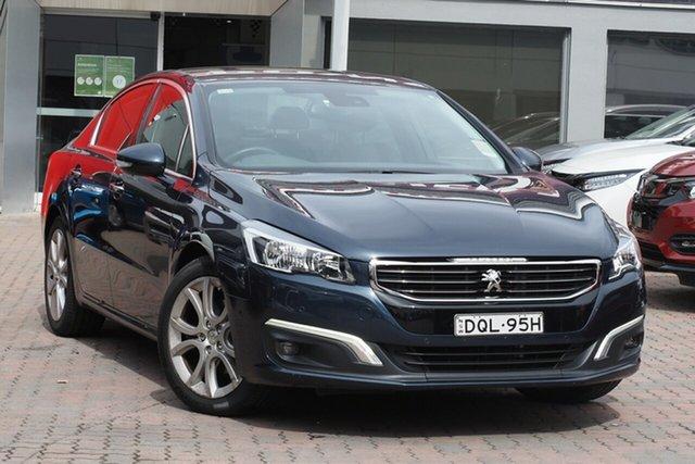 Used Peugeot 508 MY17 Allure Parramatta, 2017 Peugeot 508 MY17 Allure Blue 6 Speed Sports Automatic Sedan