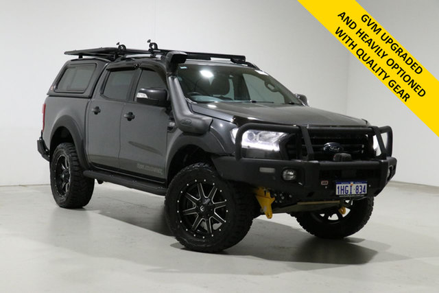 Used Ford Ranger PX MkIII MY19 Wildtrak 3.2 (4x4) Bentley, 2018 Ford Ranger PX MkIII MY19 Wildtrak 3.2 (4x4) Grey 6 Speed Automatic Dual Cab Pick-up