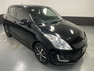 2013 Suzuki Swift FZ MY13 GL Black 5 Speed Manual Hatchback.