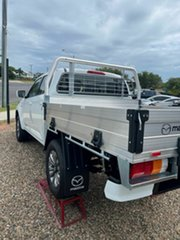 2021 Mazda BT-50 XT White 6 Speed Automatic Cab Chassis