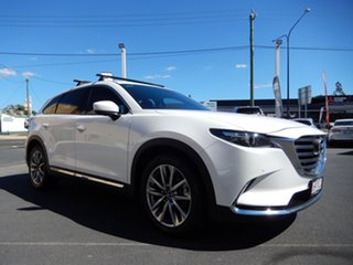 2018 Mazda CX-9 MY19 GT (AWD) White 6 Speed Automatic Wagon.