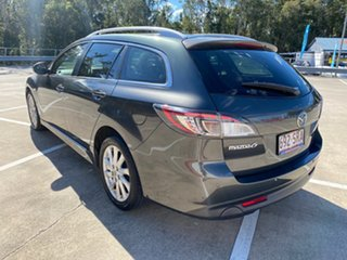 2012 Mazda 6 GH MY11 Touring Grey 5 Speed Auto Activematic Wagon