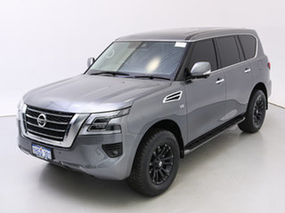 2021 Nissan Patrol Y62 Series 5 MY20 TI (4x4) Grey 7 Speed Automatic Wagon