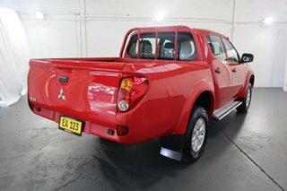 2014 Mitsubishi Triton MN MY15 GLX Double Cab Red 5 Speed Manual Utility
