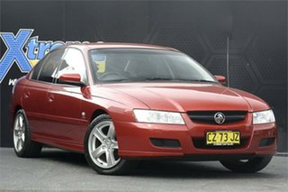 2005 Holden Commodore VZ Equipe Red 4 Speed Automatic Sedan.