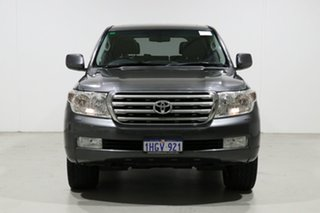 2010 Toyota Landcruiser VDJ200R 09 Upgrade Sahara (4x4) Graphite 6 Speed Automatic Wagon.
