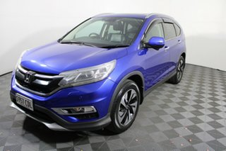 2016 Honda CR-V RM Series II MY17 VTi-L Blue 5 Speed Sports Automatic Wagon.