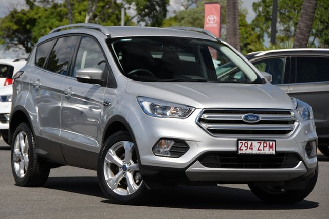 Used Ford Escape ZG 2019.75MY Trend North Lakes, 2019 Ford Escape ZG 2019.75MY Trend Silver 6 Speed Sports Automatic SUV