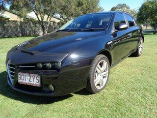 2009 Alfa Romeo 159 MY09 JTS TI Black 6 Speed Manual Sedan