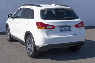 2017 Mitsubishi ASX XC MY17 LS White 6 Speed Sports Automatic Wagon.
