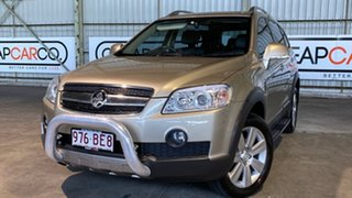 2010 Holden Captiva CG MY10 LX AWD Gold 5 Speed Sports Automatic Wagon.