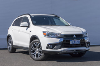2017 Mitsubishi ASX XC MY17 LS White 6 Speed Sports Automatic Wagon