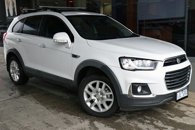 Pre-Owned Holden Captiva CG MY16 Active 2WD Preston, 2016 Holden Captiva CG MY16 Active 2WD White 6 Speed Sports Automatic Wagon
