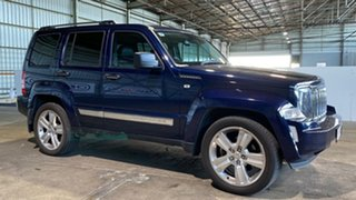 2012 Jeep Cherokee KK MY12 JET Blue 4 Speed Automatic Wagon.