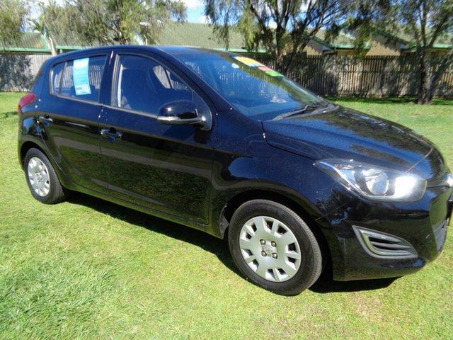 Used Hyundai i20 PB MY12 Active Kippa-Ring, 2012 Hyundai i20 PB MY12 Active Black 5 Speed Manual Hatchback