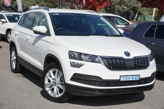Used Skoda Karoq NU MY20 110TSI DSG FWD Phillip, 2019 Skoda Karoq NU MY20 110TSI DSG FWD Candy White 7 Speed Sports Automatic Dual Clutch Wagon