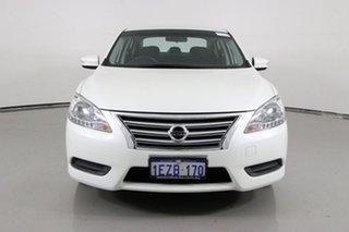 2016 Nissan Pulsar B17 Series 2 ST White Continuous Variable Sedan.