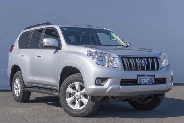 Used Toyota Landcruiser Prado KDJ150R GXL Bunbury, 2013 Toyota Landcruiser Prado KDJ150R GXL 5 Speed Sports Automatic Wagon