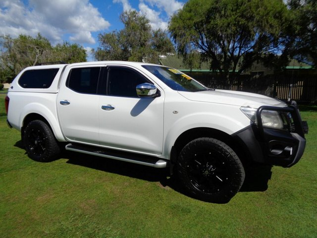 Used Nissan Navara D23 ST Kippa-Ring, 2015 Nissan Navara D23 ST White 7 Speed Sports Automatic Utility