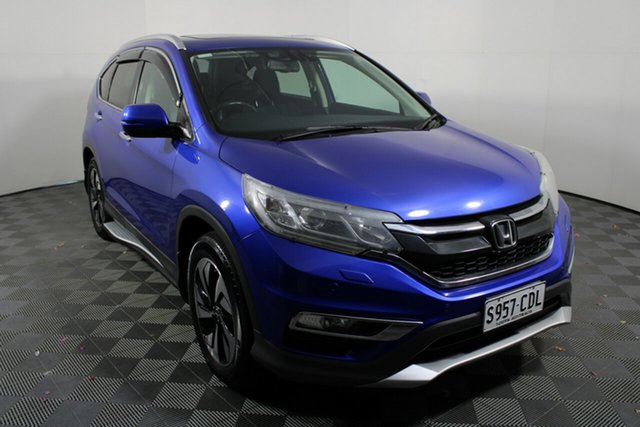 Used Honda CR-V RM Series II MY17 VTi-L Wayville, 2016 Honda CR-V RM Series II MY17 VTi-L Blue 5 Speed Sports Automatic Wagon