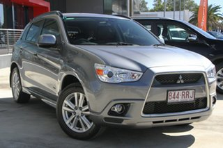 2011 Mitsubishi ASX XA MY11 Aspire Titanium Grey 6 Speed Constant Variable Wagon.