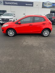 2010 Mazda 2 DE10Y1 Neo True Red 4 Speed Automatic Hatchback