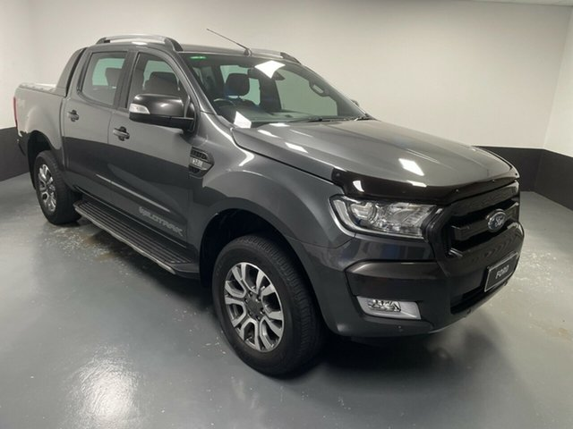 Used Ford Ranger PX MkII 2018.00MY Wildtrak Double Cab Cardiff, 2018 Ford Ranger PX MkII 2018.00MY Wildtrak Double Cab Magnetic 6 Speed Manual Utility