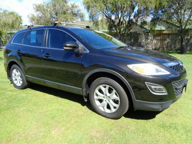 Used Mazda CX-9 TB10A5 Classic Activematic Kippa-Ring, 2012 Mazda CX-9 TB10A5 Classic Activematic Black 6 Speed Sports Automatic Wagon