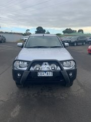 2013 Mitsubishi Triton MN MY13 GLX-R Double Cab Silver 5 Speed Sports Automatic Utility.
