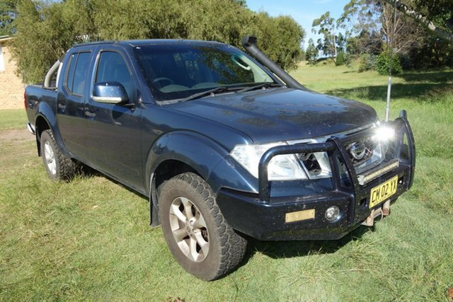 Used Nissan Navara D40 S6 MY12 ST East Maitland, 2013 Nissan Navara D40 S6 MY12 ST Blue 6 Speed Manual Utility