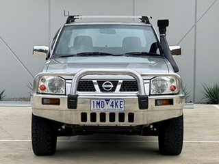 2005 Nissan Navara D22 S2 ST-R Silver 5 Speed Manual Utility.