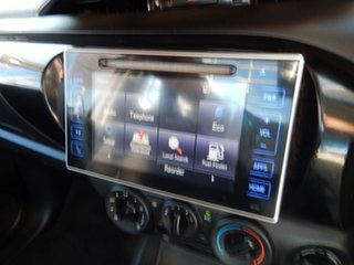2016 Toyota Hilux GUN126R SR (4x4) Glacier White 6 Speed Automatic Cab Chassis