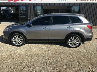 2010 Mazda CX-9 10 Upgrade Luxury Silver 6 Speed Auto Activematic Wagon.