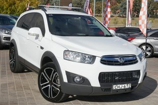 2012 Holden Captiva CG Series II 7 AWD CX White 6 Speed Sports Automatic Wagon.