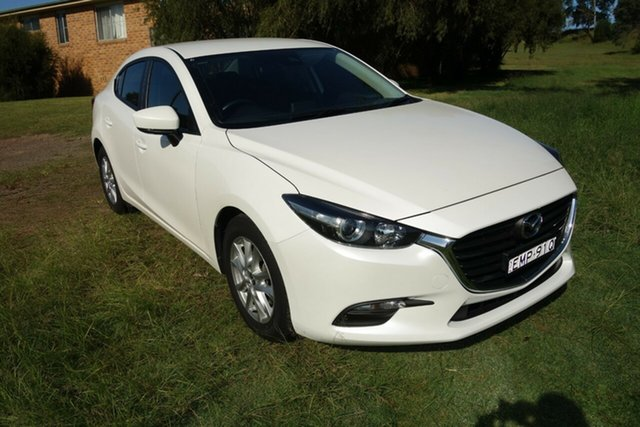 Used Mazda 3 BN5278 Neo SKYACTIV-Drive Sport East Maitland, 2018 Mazda 3 BN5278 Neo SKYACTIV-Drive Sport White 6 Speed Sports Automatic Sedan