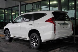 2018 Mitsubishi Pajero Sport QE MY19 Exceed White 8 Speed Sports Automatic Wagon
