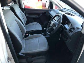 2012 Volkswagen Caddy 2KN MY12 TSI160 SWB White 5 Speed Manual Van