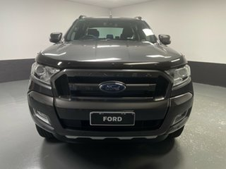 2018 Ford Ranger PX MkII 2018.00MY Wildtrak Double Cab Magnetic 6 Speed Manual Utility.