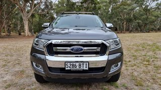 2017 Ford Ranger PX MkII XLT Double Cab Magnetic 6 Speed Sports Automatic Utility.