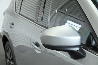 2017 Mazda CX-5 KF4WLA Akera SKYACTIV-Drive i-ACTIV AWD Silver 6 Speed Sports Automatic Wagon.