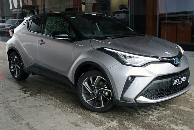 Pre-Owned Toyota C-HR ZYX10R Koba E-CVT 2WD Preston, 2020 Toyota C-HR ZYX10R Koba E-CVT 2WD Shadow Platinum 7 Speed Constant Variable Wagon Hybrid