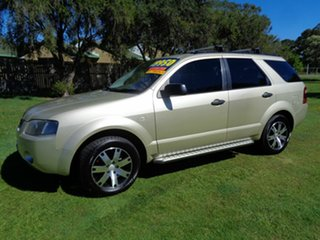2007 Ford Territory SY SR Gold 4 Speed Sports Automatic Wagon.