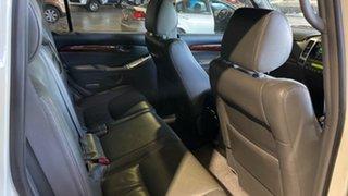 2007 Toyota Landcruiser Prado GRJ120R VX White 5 Speed Automatic Wagon
