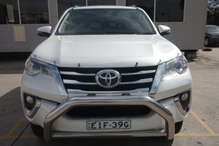 2018 Toyota Fortuner GUN156R GXL White 6 Speed Automatic Wagon.