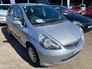 2004 Honda Jazz GD GLi Grey 1 Speed Constant Variable Hatchback.
