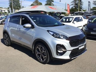 2019 Kia Sportage QL MY19 GT-Line AWD Silver 8 Speed Sports Automatic Wagon