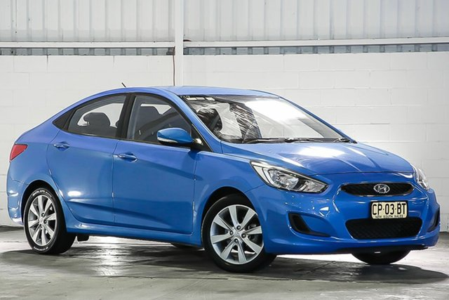 Used Hyundai Accent RB6 MY18 Sport West Gosford, 2017 Hyundai Accent RB6 MY18 Sport Blue 6 Speed Sports Automatic Sedan