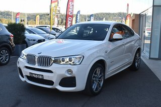 2015 BMW X4 F26 xDrive35d Coupe Steptronic White 8 Speed Automatic Wagon.