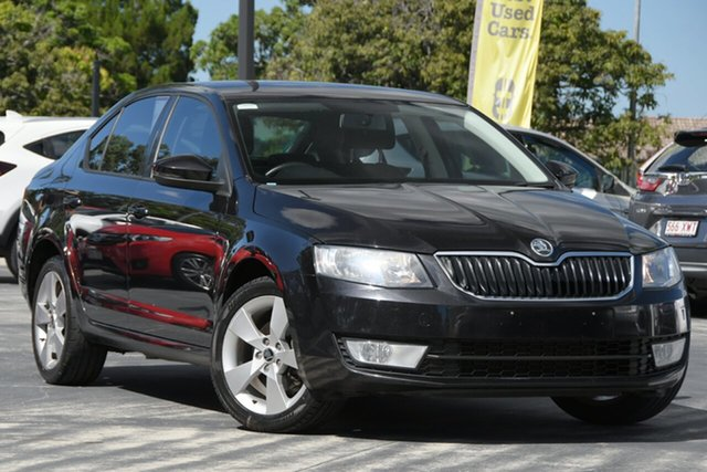 Used Skoda Octavia NE MY14 Ambition Plus Sedan DSG 103TSI North Lakes, 2013 Skoda Octavia NE MY14 Ambition Plus Sedan DSG 103TSI Black 7 Speed Sports Automatic Dual Clutch