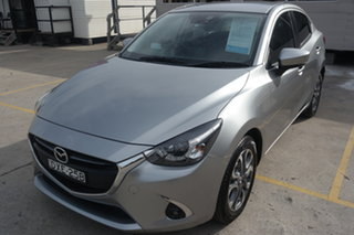 2018 Mazda 2 DL2SAA GT SKYACTIV-Drive Silver 6 Speed Sports Automatic Sedan.